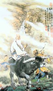 Lao Tsé - Saindo da China em se Búfalo