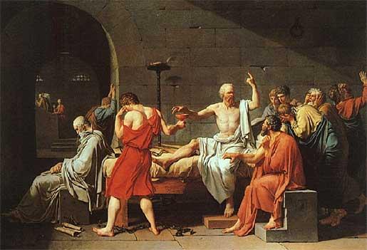 Socrates antes de morrer (Fédon)