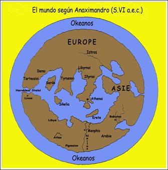 Anaximandro mapa-mundi