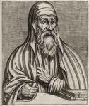 Orígenes, o Alexandrino. Um dos primeiros cristãos a se intitular 'teólogo'. Fonte da Imagem: pt.wikipeia.org/wiki/Ficheiro:origen.jpg